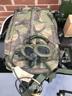 Clansman Military UK RT320/1 c/w LSB Mode GRADE B HF SET IN A NEW RUCK SACK