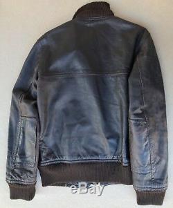 Communist Yugoslavia Army JNA Air Force military pilot 1980 leather jacket RARE