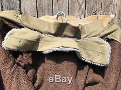 Czech Military Surplus Army Winter Field Jacket Fleece Lining Survivalist Green