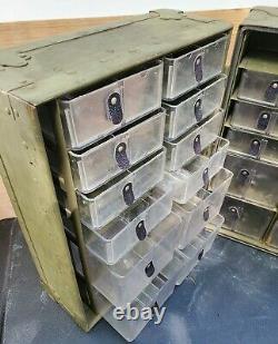 Desert Storm Era Traveling Military Storage Bin Army Surplus Container Harware