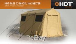EASY & FAST 5 MIN SET UP BASE-X 103 MILITARY ARMY TENT SHELTER CARPORT 15x10