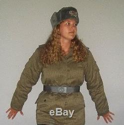East German (DDR) Army FEMALE Winter Combat BDU sets, Military Jacket & Pants