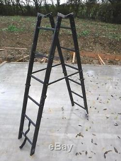Ex Army Bayley 3.7m Folding Assault Ladder Police Military UKSF SAS Loft Access