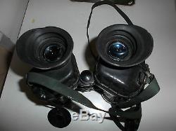 Ex Army Military Avimo Self Focusing Binoculars Good Used Condition