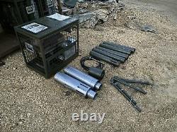 Ex MOD GHSIII Tent Heater Diesel British Army Military Garage Workshop Offgrid