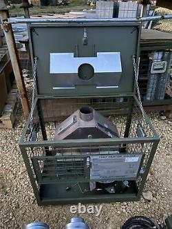 Ex MOD GHSIII Tent Heater Diesel British Army Military Unissued Garage Work