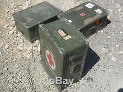 Ex Military Aluminium Shipping Storage Case Genuine British Army Land Rover MOD