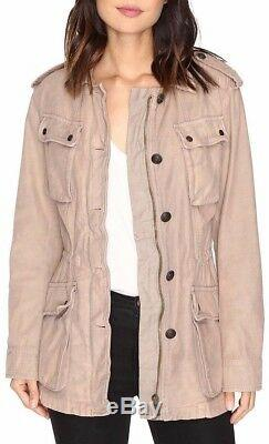 Free People Not Your Brothers Surplus Jacket Military Army Cargo OB500801
