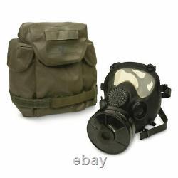 GAS MASK MP5 Polish Military Army Respirator NATO 40mm Filter Transport Bag NEW