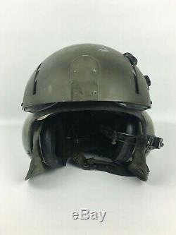 GENTEX SPH-4 Helicopter Pilot Military US Army Flight Helmet with Dual Visor OD