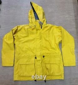 Genuine British Military Issue Yellow Petroleum Foul Weather Smock Jacket LARGE