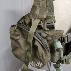 Genuine Military Blackhawk Yolk Harness Padded Waist Belt With Pouches 41 Waist