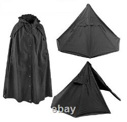 Genuine New Old Stock Used Polish Lavvu military tent Two Canvas Ponchos