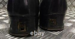 Genuine Vintage 1960 British Military Officers George Boots Leather Ceremonial