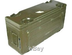 German Army NATO Case Metal crate military Aluminum box 4x4 IP 65 60x20x28cm