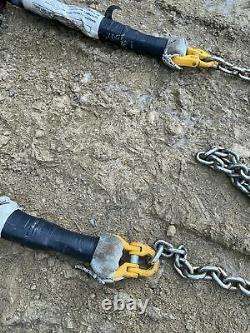 Gunnebo 4 Leg Lifting Chain Sling 4.6 Ton Ex MOD Military Army Surplus
