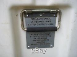 HARDIGG MILITARY SURPLUS STORAGE CONTAINER CASE JOB TOOL BOX 32x20x21 ARMY CHEST