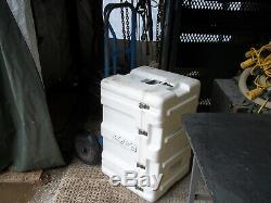 HARDIGG MILITARY SURPLUS STORAGE CONTAINER CASE JOB TOOL BOX 32x20x21 ARMY CHEST