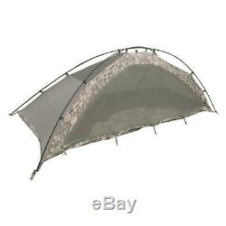 Improved Combat Shelter Tent Camp 1 person U. S. Military Surplus Army Issue Hunt