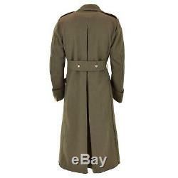 Italian Army Carabinieri Greatcoat Winter Coat Military Wool Tight Fabric New