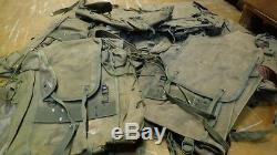 Italian Daypack Surplus Military Rucksack Backpack Bag Army Hiking Camp WW2 VTG