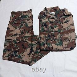 Jordanian Army Disert Military Uniform Digital Camouflage Unique Combat Uniforms