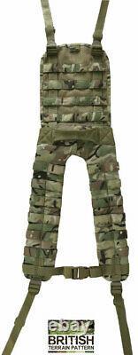 Kombat Combat Molle Battle Yoke Military Military Camo Britsh Army Webbing Belt