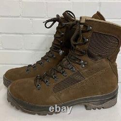 MEINDL BROWN DESERT MEN'S COMBAT BOOTS Size 11 Medium, British Military
