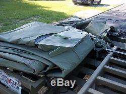 MILITARY 16x16 FRAME TENT SURPLUS CAMPING HUNTING US ARMY. NO FRAMES INCLUDED