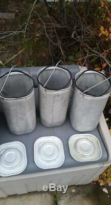 MILITARY MERMITE CAN With Inserts Hot Cold Food Cooler Container ARMY
