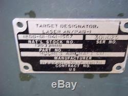 MILITARY STORAGE CONTAINER SURPLUS ARMY 31x24x20 LASER TARGET DESIGNATOR
