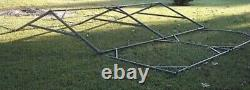 MILITARY SURPLUS 16x16 TEMPER TENT FRAME SET-FRAMES ONLY-NO CANVAS ARMY US