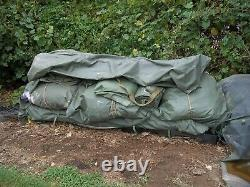 MILITARY SURPLUS 20 x 32 TEMPER TENT WITH VESTIBULE FLY SET CAMPING HUNTING ARMY