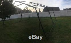MILITARY SURPLUS 20 x16 TEMPER TENT FRAME SET-FRAMES ONLY-NO CANVAS ARMY US