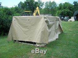 MILITARY SURPLUS TAN TRUCK COVER 8 x12.5 x 4 LMTV M1078 2.5 TON US ARMY