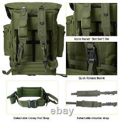 MT Military Large Alice Pack Army Survival Combat Backpack ALICE Rucksack Olive
