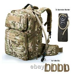 MT Military Medium Rucksack Army Tactical MOLLE 3 Day Assault Pack Multicam