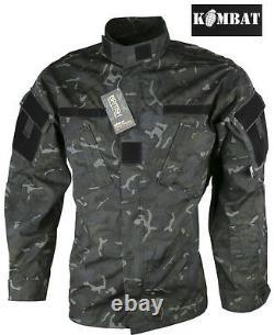 Mens Army Combat Tactical Military Shirt ACU Surplus New Jacket Top Smock BTP