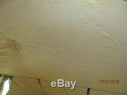 Military 5 Man Crew Tent Soldier Army Hunting Camping 10x10 No Frame/poles