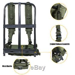 Military ALICE Pack Army Medium Rucksack Backpack with Frame&Straps Olive Drab