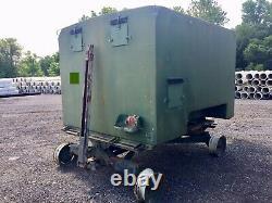 Military Army Enclosed Trailer Commo Box Ambulance M35a2 Deuce Half Bugout Shtf