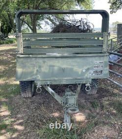 Military Army Trailer M101a3