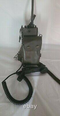 Military Field Radio Sem52a Sel German Army Bundeswehr Handset Vhf Transceiver