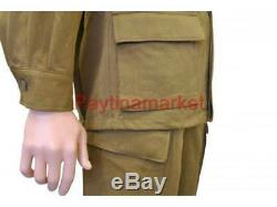 Military Jacket Russian Army Soviet Afghan form Soldier Suit USSR Uniform