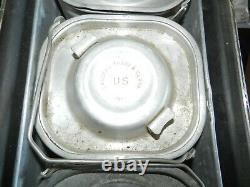 Military Mermite Can Hot /cold Food Container, Army, Amf Wyott Inc. Chey Wyo 198