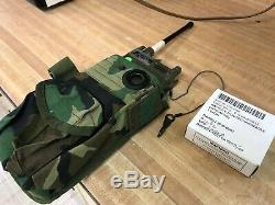 Military Portable Tactical Radio Transceiver Prc-68 Marine Corps. Army Antenna @