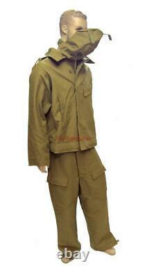 Military Russian Army Fireproof Tank Suit Soldier USSR Soviet Uniform Tankman