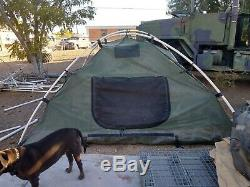 Military Surplus 5-soldier Tent Army Camping 10 X10 Made In USA Free Shipping