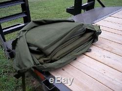 Military Surplus. 6. Wool Blanket Set With Cover Medic Emt Emergency Horse Army