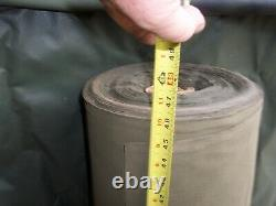 Military Surplus Canvas Roll Over 100 Pounds Of Thinner Army Canvas Us Army